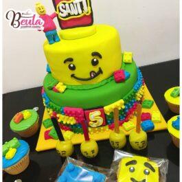 Torta Lego