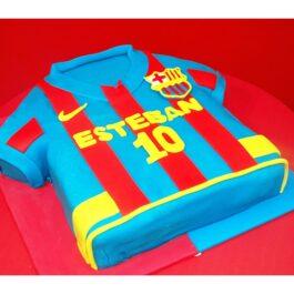 Torta Camiseta Barcelona