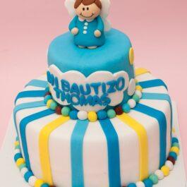 Torta Bautizo Angelito