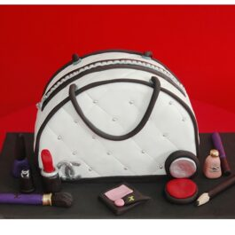 Torta Cartera y Cosméticos