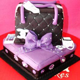 Torta Chanel Morada