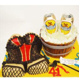 Torta Corset y Cerveza