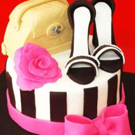 Torta Fashion Rosada