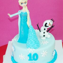 Torta Frozen y Olaf