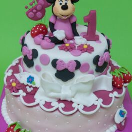 Torta Minnie fresita