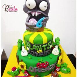 Torta Plantas Vs Zoombies