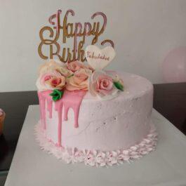 Torta Dripcake mujer