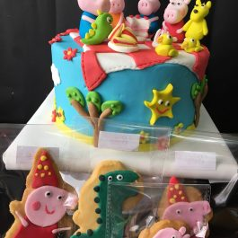 Combo pastelero Pepa Pig