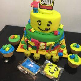 Combo pastelero Lego