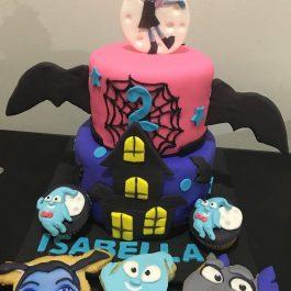 Combo pastelero Vampirina