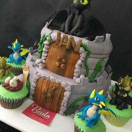 Combo pastelero Dragón