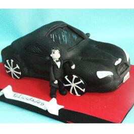 Torta Carro 3d
