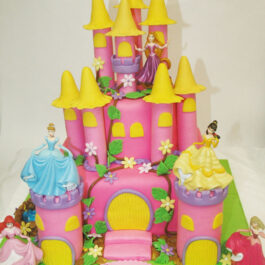 Torta Castillo Princesas