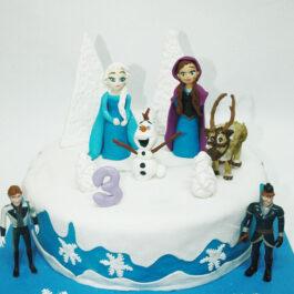 Torta Frozen 2