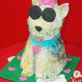 Torta Perro 3d