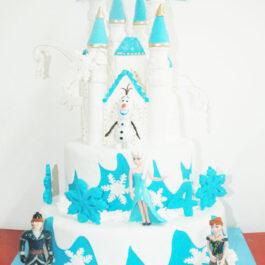 Torta Castillo Frozen