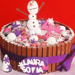 Torta Kit Kat frozen
