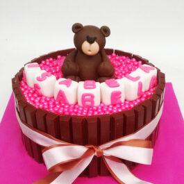 Torta Kit Kat ositos