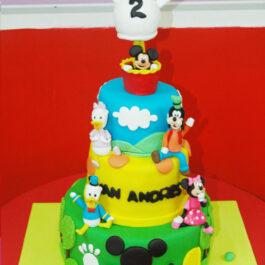 Torta Mickey Globos