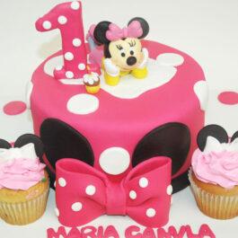 Torta Minnie Cupcakes