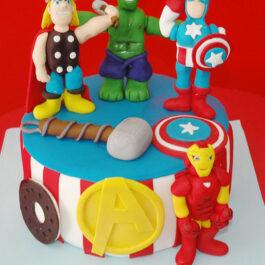 Torta vengadores 2