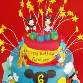 Torta Mickey Star