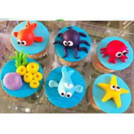 Cajita de Cupcakes de Mar