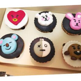 Cupcakes BTS
