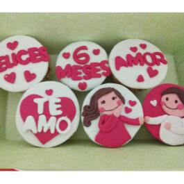 Cupcakes Meses Love