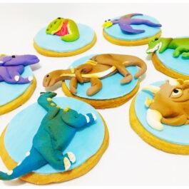 Galletas dinosaurios