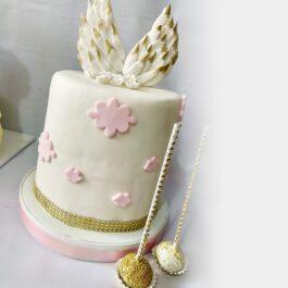 Torta Bautizo Alitas