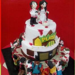 Torta Zoombies Matrimonio